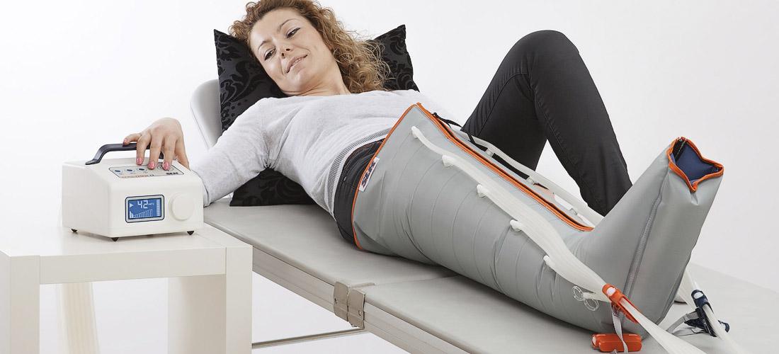 Maschinelle Lymphdrainage
